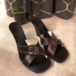 BCBG MaxAzria Wedge Sandals